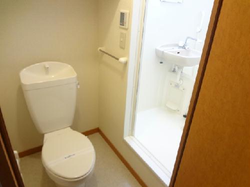 レオパレスサンシャインⅢ 202号室のトイレ