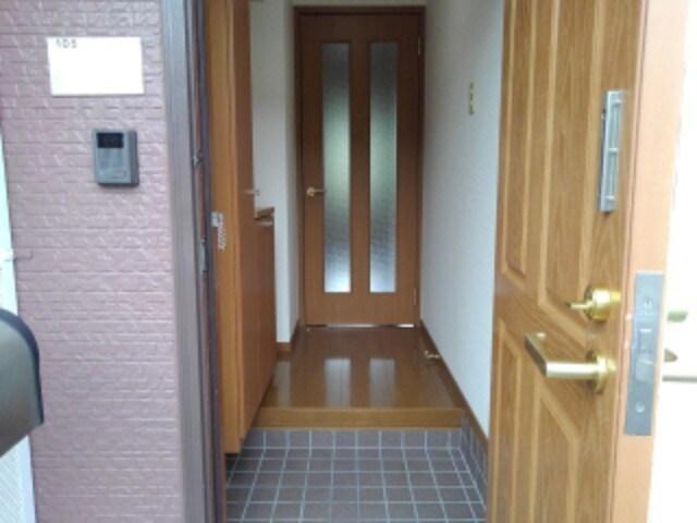 ビューシエル 01040号室の玄関