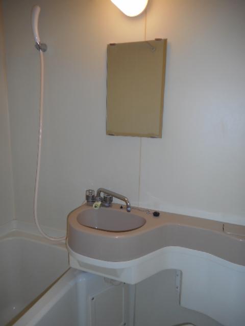 コートフレーベル 401号室の洗面所