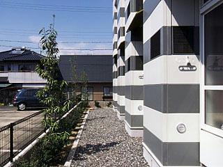 レオパレスレイワ 102号室の庭