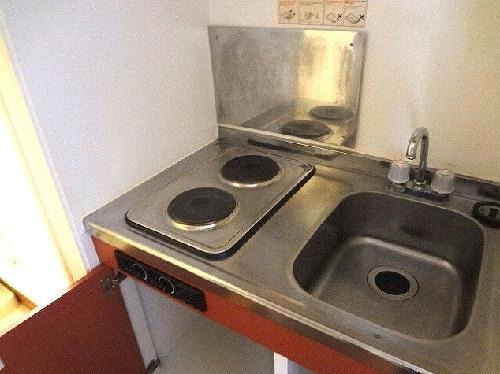 レオパレス中之谷Ⅰ 201号室のキッチン