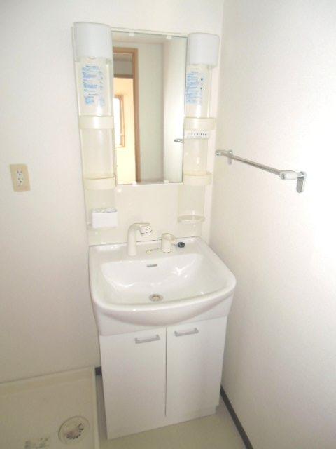 アクロス 101号室の洗面所