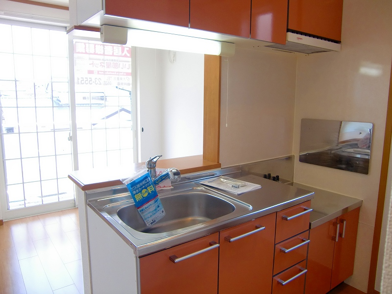 アルドーレ 02010号室のキッチン