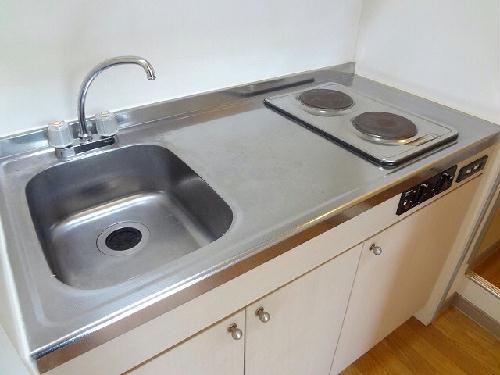 レオパレス神田 203号室のキッチン