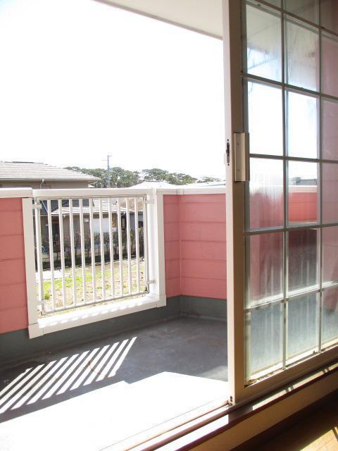 フローラーリア 02030号室のバルコニー