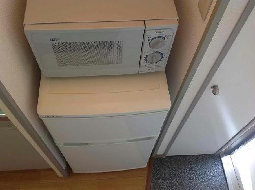 レオパレス楼蘭 201号室のキッチン