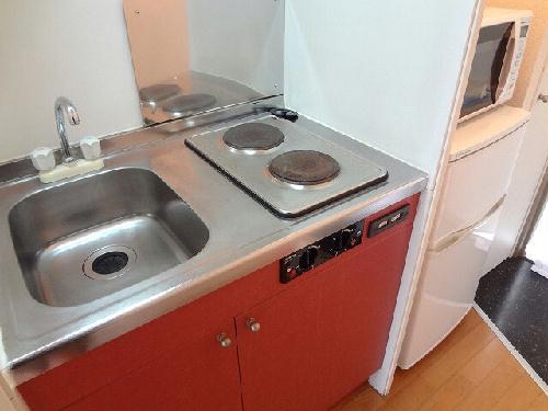 レオパレスフレンズ 101号室のキッチン