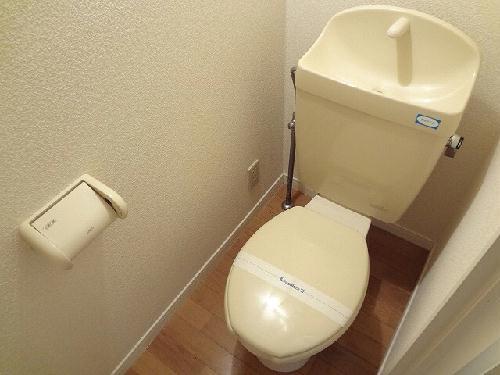 レオパレスフレンズ 101号室のトイレ