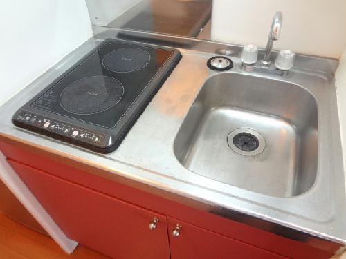 レオパレスCOZY 203号室のキッチン