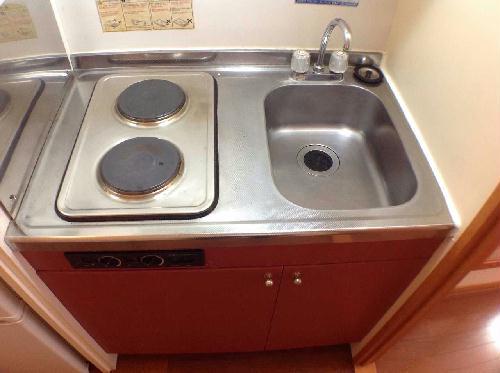 レオパレスSHINBAⅡ 106号室のキッチン