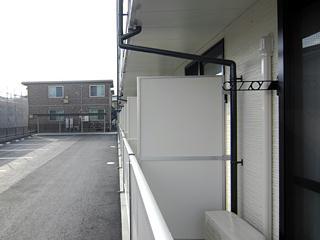 レオパレスMANATO 201号室の景色