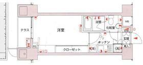 ミディアス渋谷WEST・203号室の間取り