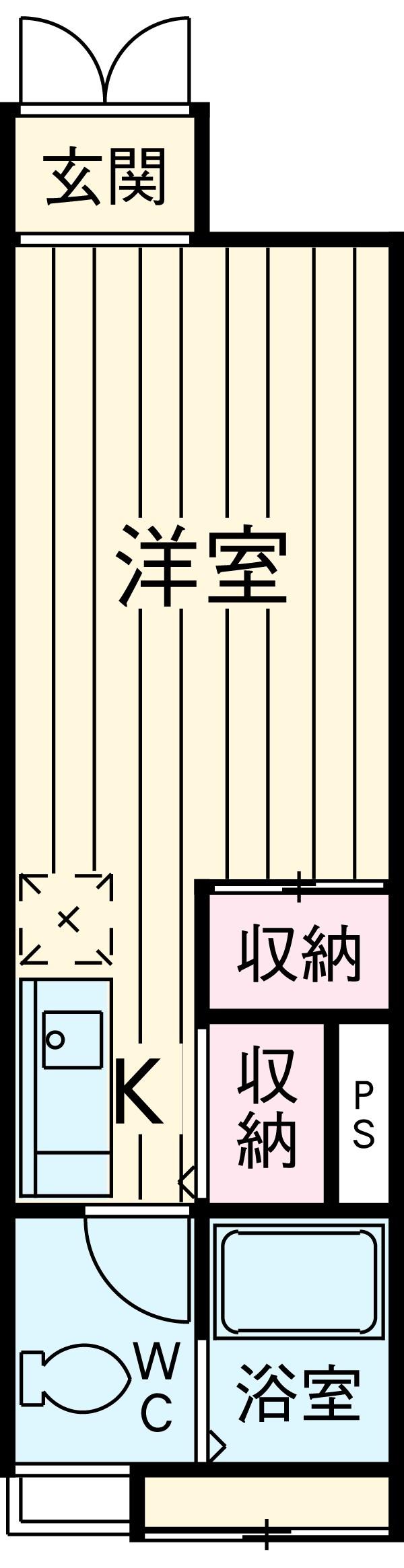 RIGATO-F・304号室の間取り