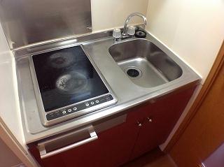 レオパレスエクセル・ケン 205号室のキッチン