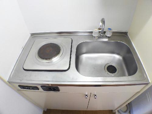 レオパレス廣岡 202号室のキッチン