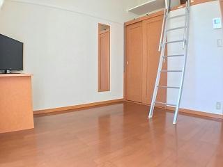 レオパレスハーヴェスト 102号室のリビング