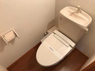 レオパレスハーヴェスト 102号室のトイレ