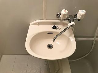 レオパレスハーヴェスト 102号室の洗面所