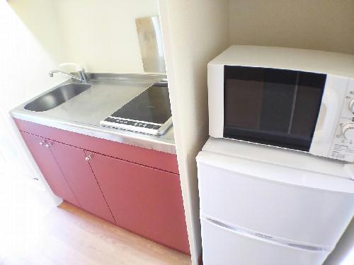 レオパレスLフェリース掛川 307号室のキッチン