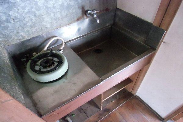 杉山荘 202号室のキッチン