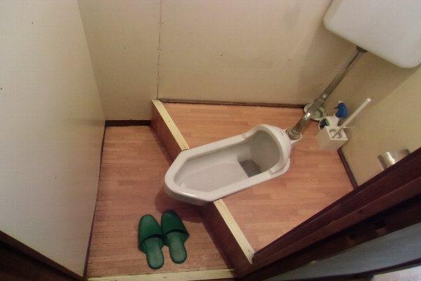 杉山荘 202号室のトイレ