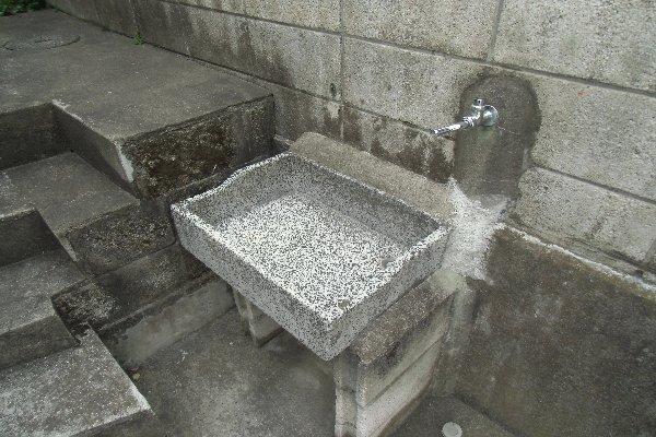 杉山荘 202号室の洗面所