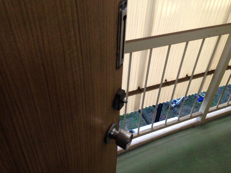 ハイム丸山 203号室のセキュリティ
