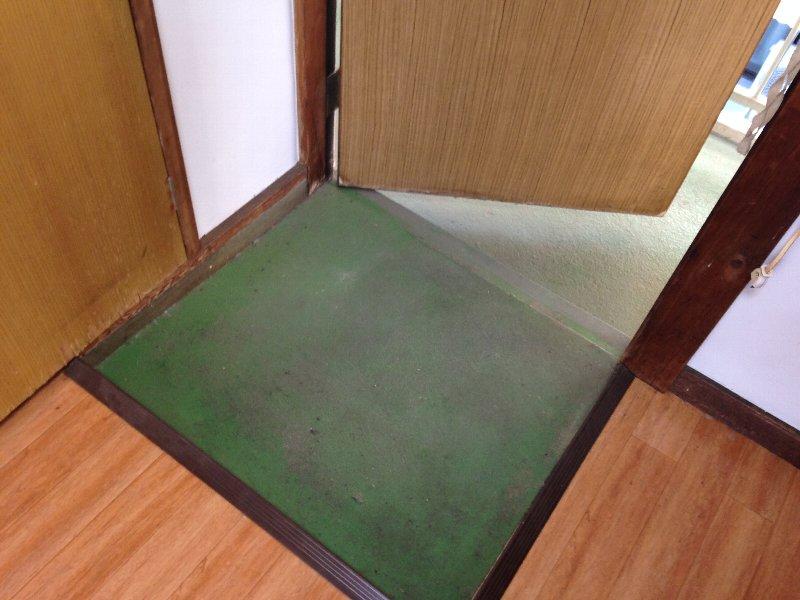 ハイム丸山 203号室の玄関