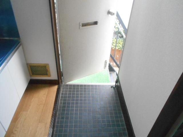 ナガシマコーポ 201号室の玄関