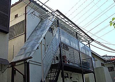 ナガシマコーポ 201号室の外観