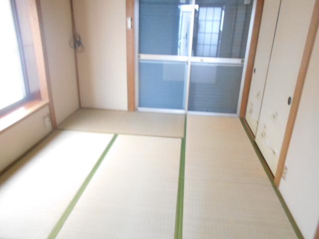 ナガシマコーポ 201号室のリビング