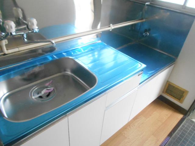 ナガシマコーポ 201号室のキッチン