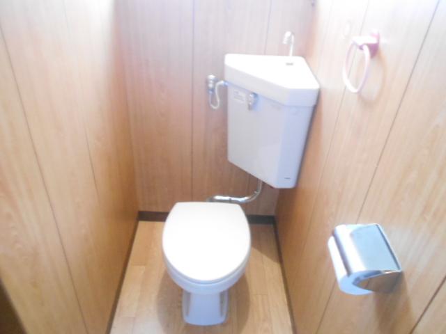 ナガシマコーポ 201号室のトイレ