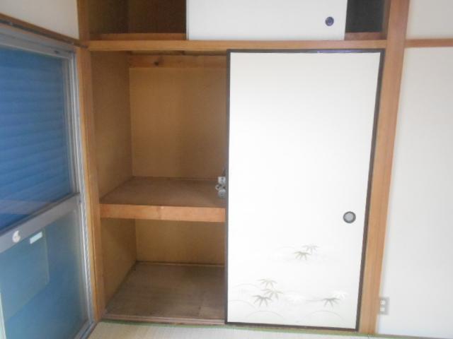ナガシマコーポ 201号室の収納