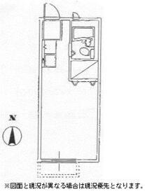 HARA HOUSE 102号室の間取り