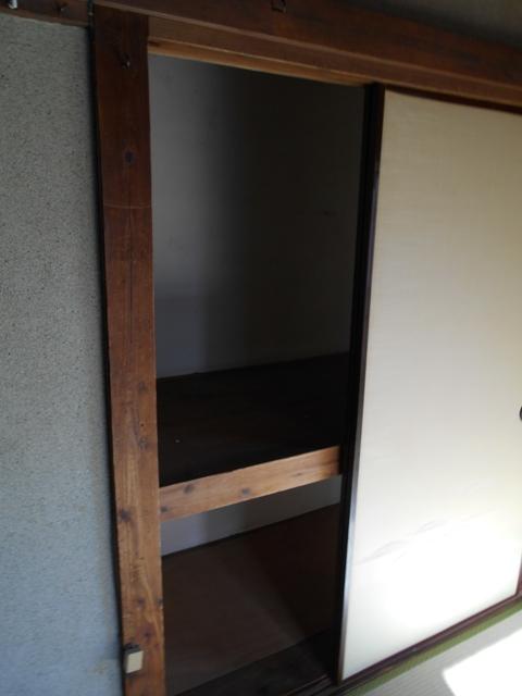 富士見荘 7号室の収納