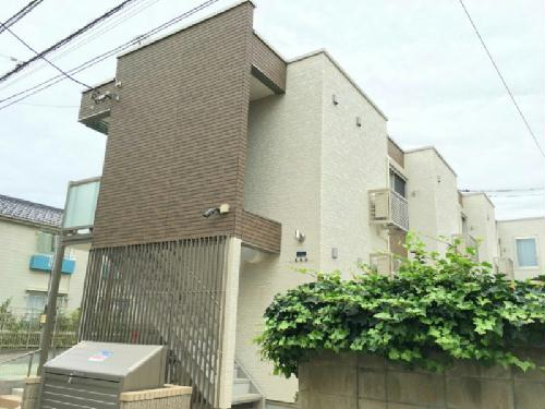 クレイノ東新宿の外観