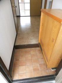 翆耀館 3FB号室の玄関