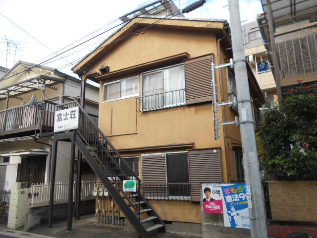 富士荘 2-2号室の外観