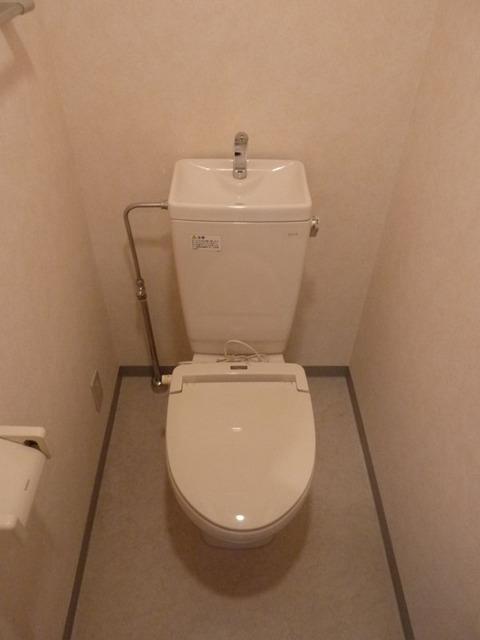 ドミールときわ台 522号室のトイレ