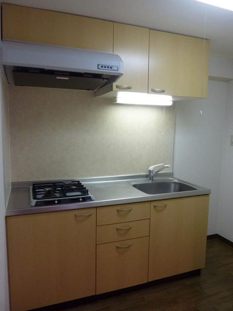 ドミールときわ台 522号室のキッチン