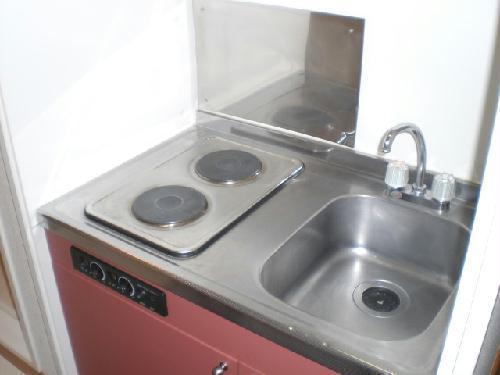 レオパレスサンボーン 101号室のキッチン