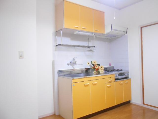 メゾンラフォーレ 202号室のキッチン