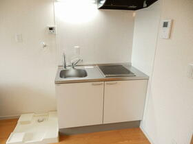 ライム 202号室のキッチン