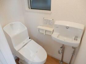 ライム 202号室のトイレ