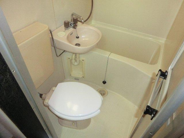 メゾンドシルク 203号室の風呂