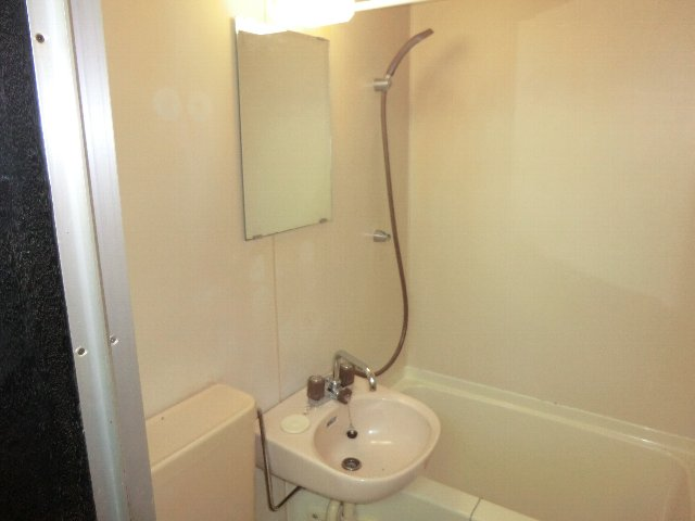 メゾンドシルク 203号室の洗面所