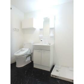 Sempliceときわ台 403号室の洗面所