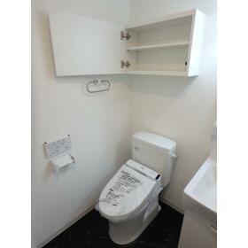 Sempliceときわ台 403号室のトイレ