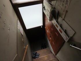 はらだ荘 201号室の玄関